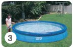 Intex Easy Set Pool opzetten stap 3